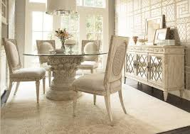 dining tables silver dining table pineapple pedestal dining