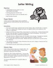 letter writing lessons u0026 formatting tips teachervision