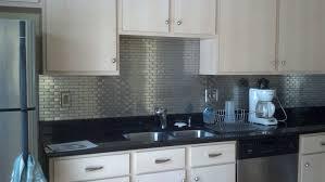 kitchen design blue glass kitchen backsplash light grey quartz