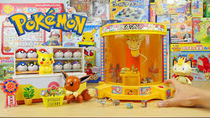 claw machine and surprise toys pokemon crane game play youtube
