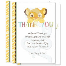 baby shower thank you cards quotes 1st birthday thank you card