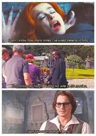 Johnny Depp Meme - johnny depp on murdering tim burtons wife helena bonham carter