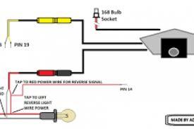 reverse camera wiring diagram toyota wiring diagram