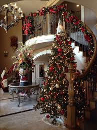 decorations for christmas best 25 christmas decorations for staircase ideas on