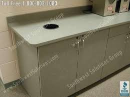 commercial kitchen furniture breakroom movable millwork cabinets modular lounge casework photos
