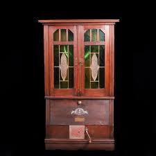 Antique German Display Cabinet Antique German Cabinet Gramophone The Best Antique
