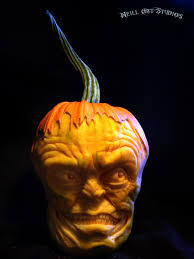 the scariest pumpkin carvings ever for this halloween