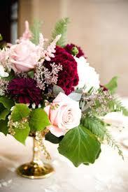 wedding flowers eucalyptus candles burgundy candle holders dahlia pink seeded