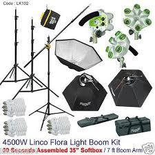 studio light boom stand 4500w linco studio photo soft box video lighting light boom stand