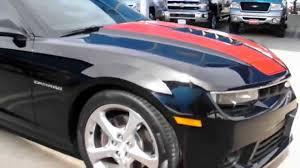 2014 orange camaro 2014 camaro ss black with orange stripes for sale