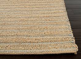 Jaipur Area Rugs Himalaya Collection Jute And Cotton Area Rug In Hockney Blue By