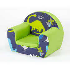 Ebay Armchair Ready Steady Bed Childrens Toddlers Foam Armchair Dino In The Dark