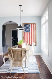Red White And Blue Home Decor The Best Red White U0026 Blue Decor Red White Blue House And Lakes