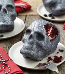 red velvet skull cake halloween cake ideas jo ann holiday