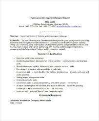 Professional Development Resume Professional Manager Resume 49 Free Word Pdf Documents