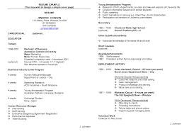 Sample Resume Templates For Highschool Students High Student Job Resume 22 Examples For Students Samples 2