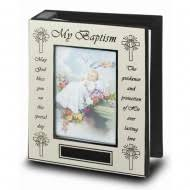 personalized baptism photo album religious baby albums st s guild