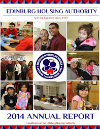 edinburg housing authority 2014 annual report by edinburg housing