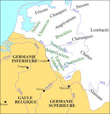 germania map from wikiwand germania superior and germania inferior in the 3rd