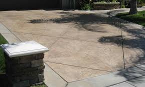 concrete backyard cost home outdoor decoration