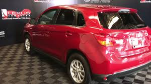 mitsubishi rvr 2015 black used red 2015 mitsubishi rvr se walkaround review ponoka alberta