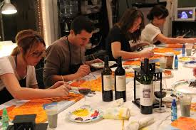 Best Paint Best Paint And Sip In Orange County Cbs Los Angeles