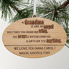 personalized grandparent ornaments wonderful