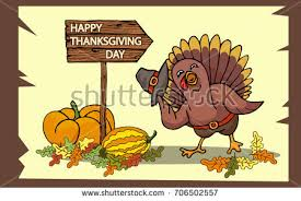 greeting card happy thanksgiving day vector stock vector 706502497
