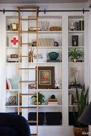 Book Or Magazine Ladder Shelf by The Most Expensive Looking Ikea Hack We U0027ve Ever Seen Library