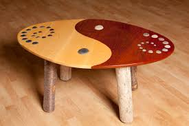 Yin Yang Table by Coffee Tables Tim Boyden Art