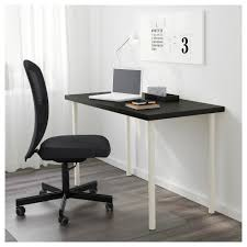 White Desk From Ikea by Linnmon Adils Table Black Brown Black Ikea