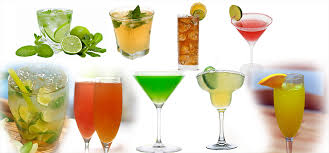 mix drink recipes