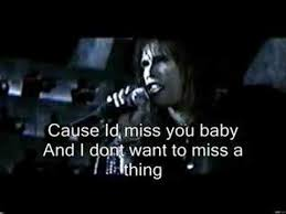 aerosmith wedding song aerosmith i dont wanna miss a thing every moment spent with