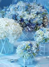 Blue Wedding Centerpieces by She Said Yes Stylish And Fun Wedding Centerpieces Blue Flower