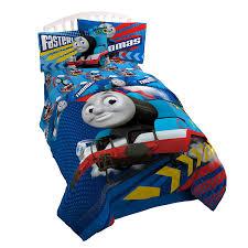 Thomas The Train Twin Comforter Set Amazon Com Thomas The Tank Engine Faster Twin Full Comforter