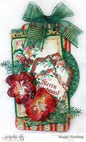 A Christmas Carol Ornaments Large Gift Tag From Graphic 45 Christmas Carol Youtube