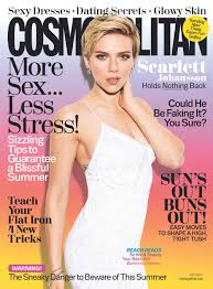 cosmopolitan magazine logo scarlett johansson covers the july issue of cosmopolitan magazine