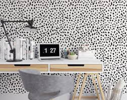 black and white paint wall mural marble abstract removable