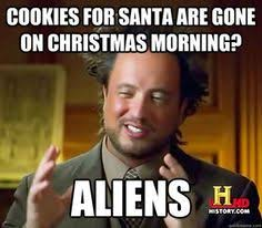 Because Aliens Meme - the wednesday news is up aliens news pinterest wednesday