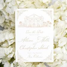 save the date designs southern oaks plantation save the date scotti cline designs
