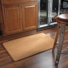 Floor Mats For Kitchen by Natural Cork Floor Mat The Green Head