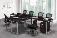 T Shape Desk T Shaped Desks Home Office Desks For Two