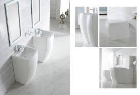 Large Pedestal Sinks Bathroom Modern Pedestal Sink Altier
