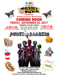 movies in the park september 22 2017
