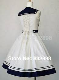 beautiful sailor dress oh i would love to have a dress like this