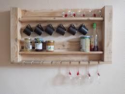 cuisine en palette bois meuble étagère de cuisine etagères en bois de palette palettes