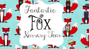 hipster fox and rustic moose nursery tour youtube