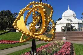 Botanical Gardens Golden Gate Park by Jean Michel Othoniel Installs U0027la Rose Des Vents U0027 Sculpture At