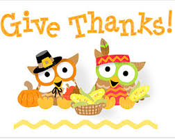 thanksgiving owls owl turkey pilgrim indian clip clipart