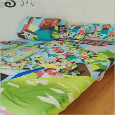 Minecraft Twin Comforter 3pcs Set 3d Printed Minecraft Bedding Set 3d Kids Minecraft